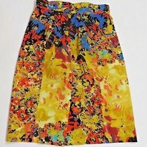 Anthropologie Tracy Reese Gainsborough skirt, Sz 4